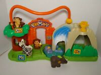 2007 Fisher Price Little People Surprise Sounds Peek & Play Zoo With Animals