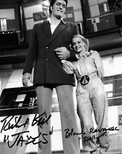 RICHARD KIEL & BLANCHE RAVALEC James Bond JAWS & DOLLY Autograph Signed UACC RD