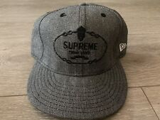 Supreme New York Classic New Era Hat 7 5/8 Cap Rare Vtg LA NYC Japan