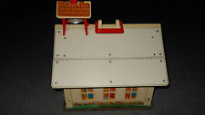 Fisher Price Vintage 1971 Little People Schoolhouse # 923
