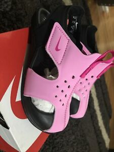 Nike Sunray Protect 2 Toddler Girls Pink Sandals/Water Shoes~size 9 C