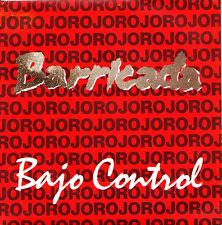 BARRICADA-BAJO CONTROL + ¿QUIEN ES? SINGLE VINILO 1988 SPAIN EXCELLENT COVER