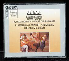 CD Bach Secular cantatas Cantates profanes Collegium aureum 2 x CD Comme neuf