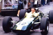 Jim Clark Lotus 33 Monaco Grand Prix 1967 Photograph 7