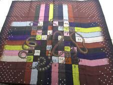 Écharpes et châles multicolore pour femme, en 100% soie