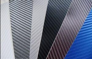 3D Carbon Fibre Vinyl Wrap (Air/Bubble Free) All Colours All sizes