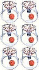 6) Swimline 9162 Swimming Pool Quality Floating Super Hoops Fun Basketball Games