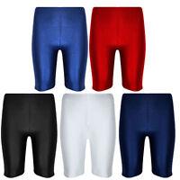 New Lycra Shorts Cycling Shorts PE School Sports Dancing Boys/Girls Mens/Womens