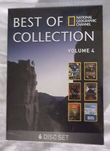 Best of National Geographic Collection Volume 4 (DVD, 6-Disc Set) Brand New