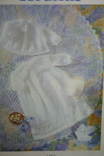 Christening Robe Layette Knitting Pattern