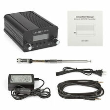SainSonic 7W AX-7C Emetteur Transmetteur Low Power Stéréo PLL Broadcast FM Radio