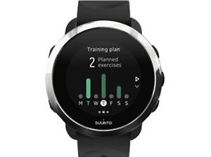 Reloj deportivo - Suunto 3 Fitness, Negro, Frecuencia cardíaca, Bluetooth