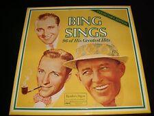 BING SINGS<>96 OF HIS GREATEST HITS<>8-LP Box Vinyl ~Canada Pressing<>RCA 27650