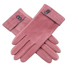US Women Warm Winter Gloves Ski Driving Screen Touch Full Finger Mittens Suede