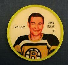 1961-62 Shirriff / Salada Hockey Coin #7 Johnny Bucyk Boston Bruins
