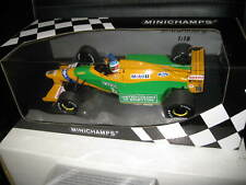 1/18 MINICHAMPS F1 BENETTON FORD B192 M SCHUMACHER 1st GP VICTORY SPA 1992 #19
