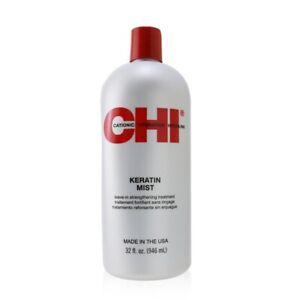 NEW CHI Keratin Mist Leave-In Strengthening Treatment 946ml Mens Hair Care