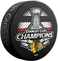 Chicago Blackhawks 2015 NHL Stanley Cup Champions Souvenir Hockey Puck