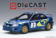 AUTOART 89792 SUBARU IMPREZA WRC 1997 #3 COLIN MCRAE/NICKY GRIST 1:18TH SCALE