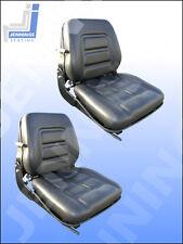 Forklift Boat Tractor Dumper Mower Suspension Seat X2