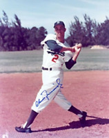Chico Fernandez Autographed / Signed Brooklyn Dodgers 8x10 Photo
