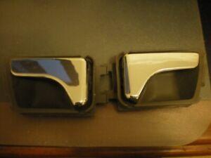 HOLDEN COMMODORE VS 1 PAIR CHROME INTERIOR DOOR HANDLES.