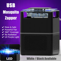 USB Electric Insect Zapper Mosquito Fly Bug Killer LED Trap Lamp Pest Control