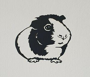 Guinea Pig Vinyl Decal/Sticker