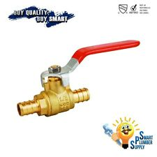 Pack of 5 pcs PEX Shut off Ball Valve 1