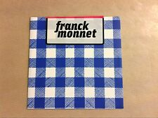 RARE CD PROMO / FRANCK MONNET / LA ROUTINE / NEUF SOUS CELLO