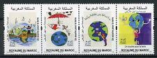 Morocco 2018 MNH Environmental Protection 4v Strip Environment Nature Stamps