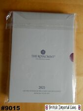 More details for 2021 royal mint annual coin set cover with 'televison' printing error | #9015