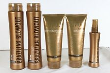 Brazilian Blowout Volume Shampoo, Conditioner, Masque, Serum & Dry Oil