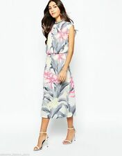 Oasis Round Neck Party Sleeveless Dresses for Women