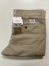 """Norse Projects Aros Slim Stretch Chinos Trousers (Sz 30""""/Khaki) RRP £150 NR Folk"""