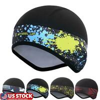 Winter Thermal Bicycle Cap Warm Snow Headwear Waterproof Bike Hats Bicycle Cap
