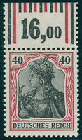 DR 1915, MiNr. 90 II a W OR, tadellos postfrisch, gepr. Jäschke-L., Mi. 140,-
