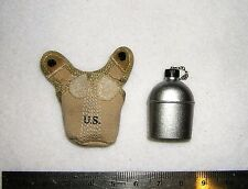 DID 1/6th Scale WW2 U.S. Army Water Bottle & Cover - Ryan