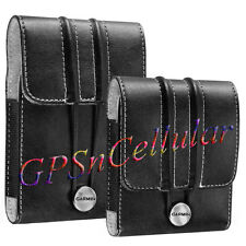 "OEM Garmin Nuvi 265 2250 1350 1370 1390 Leather Carry Case 3.5"" GPS 010-11305-01"