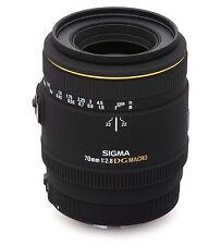 Sigma EX 70 mm F/2.8 SD DG Macro Objektiv für Canon