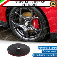 CONTORNO NERO BORDO CERCHI IN LEGA ADESIVO ALFA ROMEO 147 156 159 166