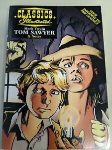 classic Illustrated Mark Twain Tom Sawyer and notes