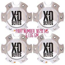 4 NEW KMC XD CHROME CENTER CAP 1079L145 S-708 XD 798 801 809 810 796 807 CHEVY