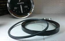 Hilfs - Jaeger Smiths Messgerät, Instandsetzung Satz gewölbt Glas schwarz 1/2 V