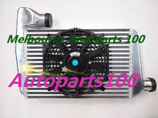 ALUMINUM INTERCOOLER FOR FORD FALCON BA BF XR6 TURBO + FAN