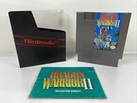 Dragon Warrior II 2 (Nintendo Entertainment System, 1990) Tested With Manual