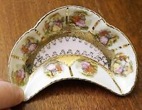 """4.5"""" COURTING COUPLE Victorian Style Nut/Trinket DISH BOWL Arnart Beehive Mark"""