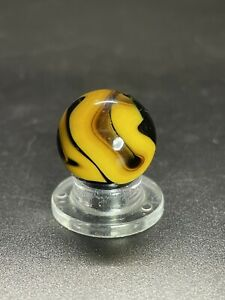 "Christensen Agate Company Marble Christensen Swirl Marble Vintage Marble 0.629"""