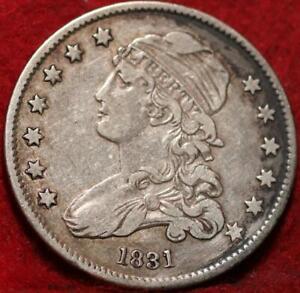 1831 Philadelphia Mint Silver Capped Bust Quarter