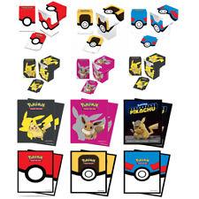 More details for ultra pro pokemon deck box & standard pokemon card sleeves combo